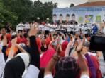 senam sehat bersama DPRD Kota Tangerang