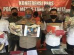 Ungkap Polres Metro Tangerang Kota