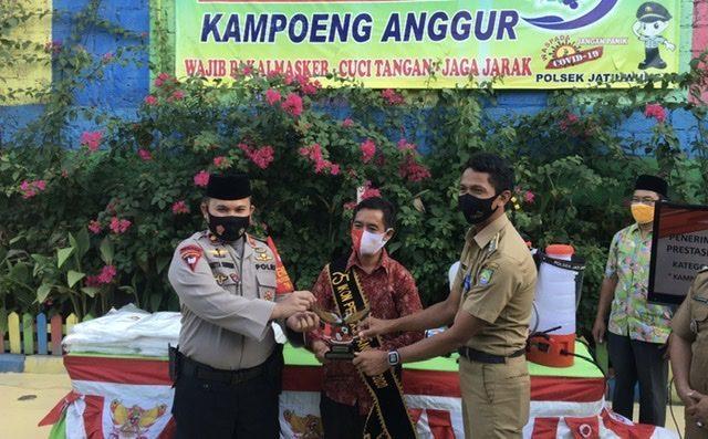 Prestasi Kampung Anggur binaan Polsek Jatiuwung
